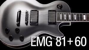 EMG 81/60  couleur noir - échange pour black chrome