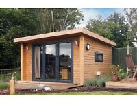 Contemporary Garden Structures ... Summerhouses, Decking, Feature Walls, Gates and Fencing.