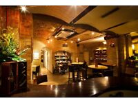 FOH for busy wine bar & wine merchant in City of London
