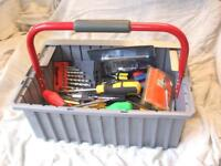 Set of various tools
