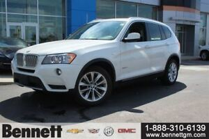 2014 BMW X3 xDrive28i - Comes with 2 sets of tires