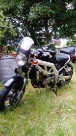 Suzuki SV650 (only 5000 miles)