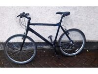 "Carrera Subway One, gents MTB bike large 22"" frame, ideal student or work commuter bike"