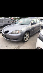 2004 mazda 3 sedan manual transmission for sale