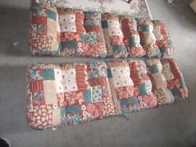 Cushions for Garden recliner chairs