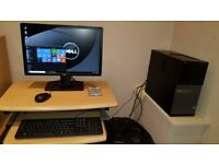 Dell desktop pc set up i5