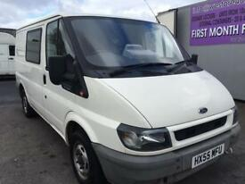 Ford transit dayvan with bed and sink in back new mot in good condition 2295