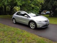 2009 59 Honda Civic 2.2i-CTDi ES panoramic roof long mot 1 former keeper £3195