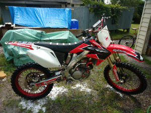 Beautiful 2006 Honda CRF 250r