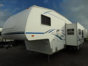 2003 Cougar 281EFS 5th wheel RV with bunkhouse