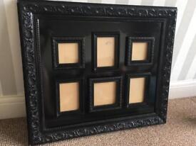 Large black ornate frame