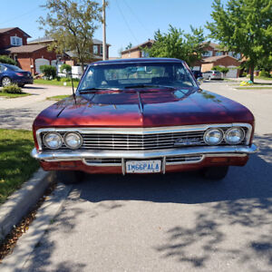 1966 Chevy Impala 2 Dr Coupe in Good Condition 327 v8