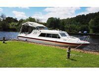 Norman 25' Broads Cruiser/Canal Boat