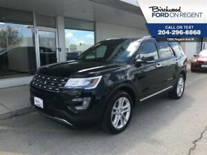 2017 Ford Explorer Limited 4WD *Leather/Nav/Skyroof*
