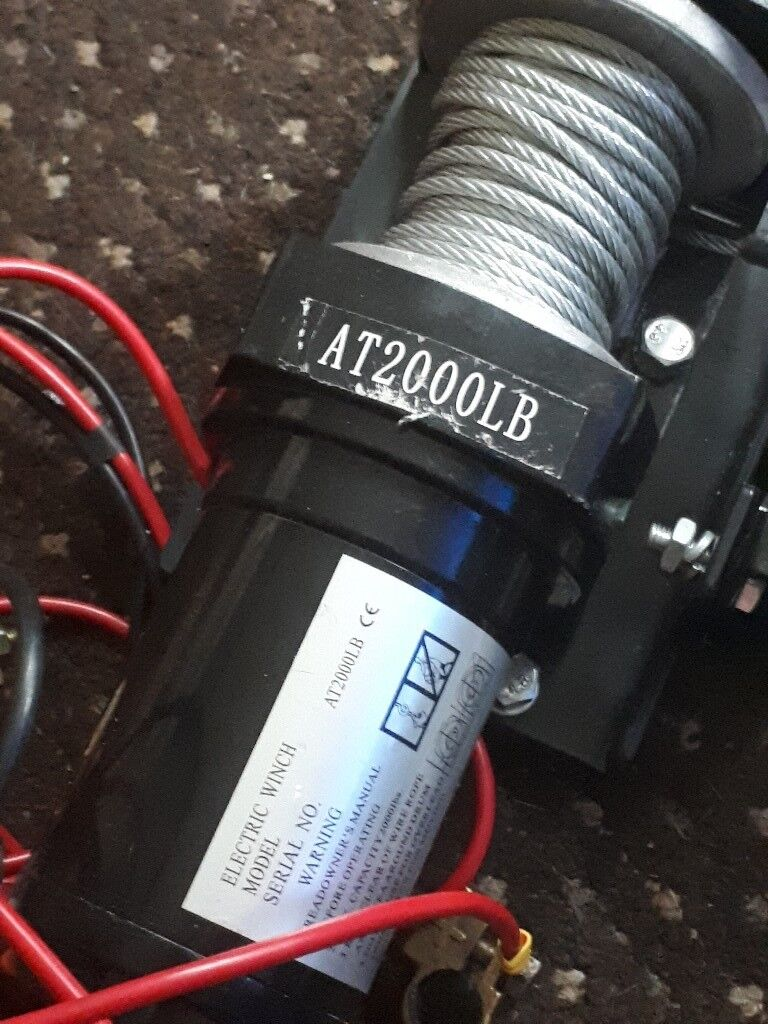 12 volt battery winch in dudley west midlands gumtree 12 volt battery winch publicscrutiny Choice Image