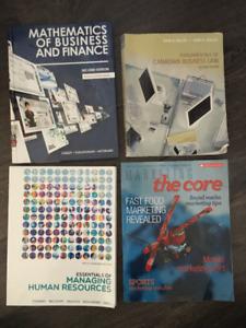 Business Administration Books - First Year Holland College
