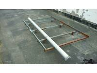 Roof Rack with 3 meter pipe tube for Scudo, Dispatch and Expert