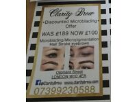 Microblading offer london