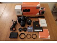 Sony a200 DSLR Camera + 2 Lens + Accessories | Immaculate Condition