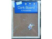 A4 corkboard