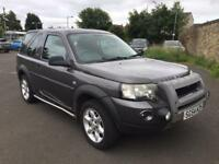 Low miles 70000 Land Rover freelander 1.8 xei 54reg facelift model 4wd