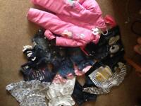 12-18 months girls clothes bundle used