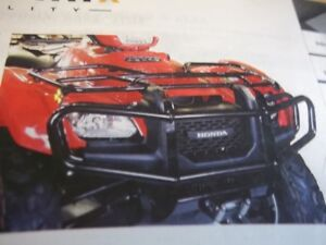 HONDA  TRX500 FOREMAN front ELITE BUMPER $179.95 LOW PRICE!!