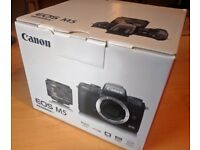 """Canon EOS M5 Camera /w EF 15-45mm IS lens, 24.2MP, Wi-Fi, Bluetooth, NFC, 3.2"""" Tiltable Touch Screen"""