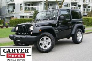 2014 Jeep Wrangler Sport + HARD TOP + + LOCAL + NO ACCIDENTS!