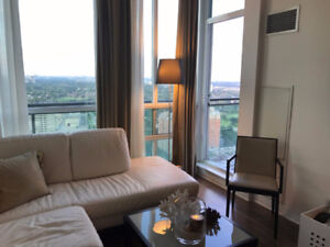 Gorgeous 1 Bed+ Den in the heart of Mississauga, near Square 1.