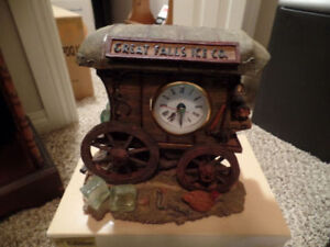 VANMARK Ice Wagon CLOCK (1st Edition) ~ As NEW In Box ~ $45.00
