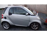 SMART FOR TWO DIESEL AUTO. PULSE CDI. LOW MILEAGE ECONOMIC AND EASY TO PARK. GOOD PRICE.