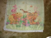 Kids voile curtains Winnie the Pooh