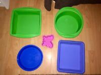 Large Silicone Baking Trays £5 for all collection only from millbrook oos
