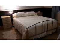 Spare bedroom clearout - kingsize bed, furniture and accessories