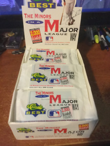 1991 Classic Games Baseball Cards Sealed