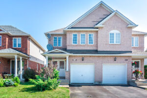 Gorgeous 3 bedroom semi-detached home in Milton