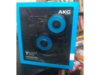 AKG Y55 On-Ear DJ Headphones - Black.