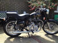 Royal Enfield Bullet 2002. 500cc.2 owners, £2,200 ono,only 3604 miles