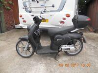 50cc Benelli Pepe ItalianScooter