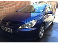 Peugeot 307SW 04 plate