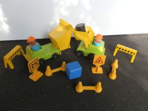 Fisher Price construction crew