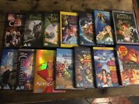 14x DISNEY DVDS ALL REGION 2 , FROZEN, CINDERELLA , MONSTER UNIVERSITY.