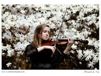 VIOLINIST - WEDDINGS, PROPOSALS AND OTHER EVENTS