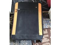 Suit case, with pull up handle and wheels