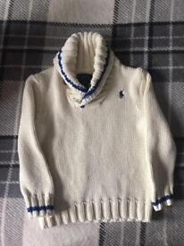 Ralph Lauren boys jumpers 2/2T