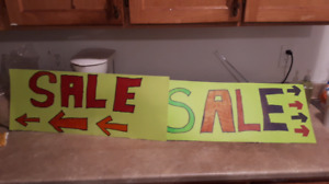 Moving sale. Everything must go.