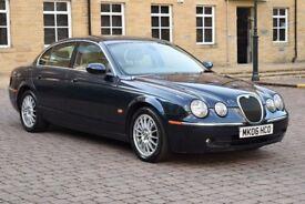 2006 Jaguar S-Type 2.7 Diesel Auto SAT-NAV, LEATHERS, FSH