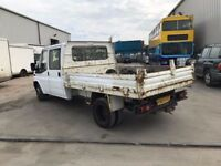 FORD TRANSIT CREWCAB TIPPER 2007REG FOR SALE