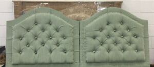 NEW UPHOLSTERED TWIN HEADBOARDS